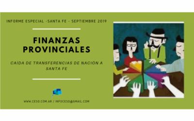 Informe especial | Finanzas Provinciales en Santa Fe – Septiembre 2019